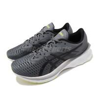 Asics Novablast Grey Black FFBLAST Mens Cushion Road Running Shoes 1011A681-020