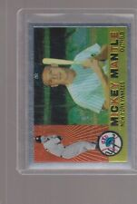 1996 Topps crome baseball  # 10 Mickey Mantle