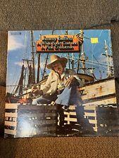 "Jimmy Buffett White Sport Coat Pink Crustacean 12"" Black Vinyl 1973"