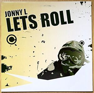 """Jonny L – Lets Roll / Camouflage 12"""" Vinyl Record PIH006 DnB Drum and Bass"""