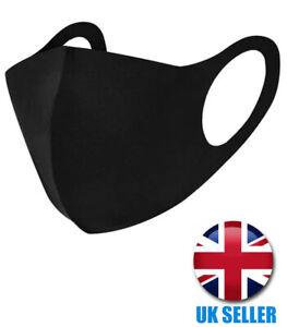 Pack of 2 Washable Face Mask UK Reusable Mask Foam Breathable High Quality Masks