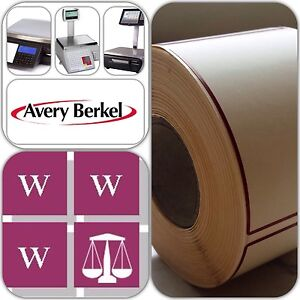 Avery Berkel Thermal Labels -  58mmx76mm, 12 Rolls 6,000 Labels