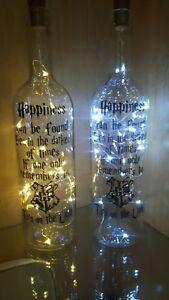 Harry Potter Light Up Bottle Remember ToTurn OnThe Light Gift Boxed