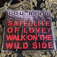LOU REED Satellite of Love / Walk on the Wild Side cd singolo 2004