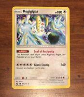 Pokemon REGIGIGAS 84a/111 - Crimson Invasion RARE HOLO PROMO