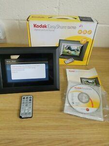 """Kodak Easy Share SV710 Digital Picture Frame 7""""  in Box"""
