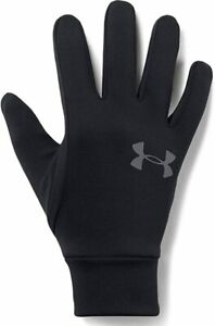 New Under Armour Men's Armour Liner 2.0 Gloves Mens Size Small Black