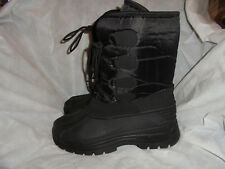 Mountain Warehouse Textil negro para hombre cordones arriba Boot Size UK 9 EU 43 nos 10 en muy buena condición