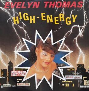 "Evelyn Thomas-High Energy Vinyl 12"" Single.1984 Record Shack SOHOT 18."