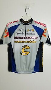 Cannondale Cycling Jersey Short Sleeve 1/2 Zip Bike Racing Unisex Size L