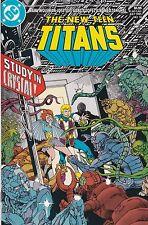 The New Teen Titans #10. VF+. 1985
