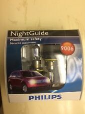 Philips NightGuide 9006 (NGS2) Maximum Safety Halogen Bulbs - New and Sealed