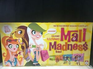 Electronic MALL MADNESS Board Game - 2004 Milton Bradley #02 - Super Clean!