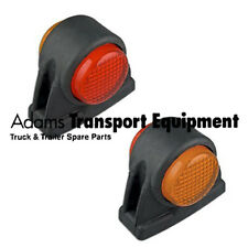 LED Autolamps 1x 1004ARM Red/Amber Side Marker Lamp 12/24 Volt - 5 Year Warranty