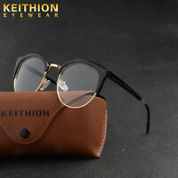 Men Women Retro Eyeglasses Frame Glasses Vintage Eyewear Clear Lens HOT With Box