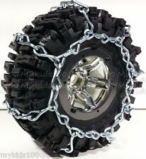 """4 Silver Snow Chains Fit RC4WD #Z-T0097 RC4WD Mud Slinger 2.2"""" Tires. Crawler"""