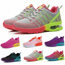 Women's Fitness Air Cushion Sneakers Comfy Breathable Athletic Running Shoes