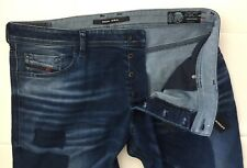 NWT-$348 DIESEL 084BW Tepphar Slim-Carrot StretchJeans(Size-40X34/Made in Italy)