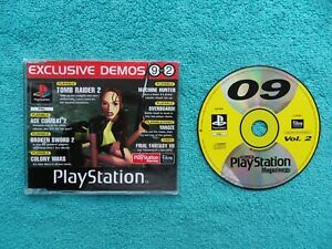 official uk magazine DEMO DISC 09 VOL 2 - ps1 / sony playstation 1 - SCED-00822