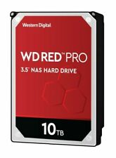 "Western Digital Red Pro 10TB SATA III 3.5"" NAS Internal Hard Drive (WD101KFBX)"