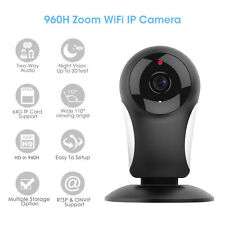 M.Way TELECAMERA IP WIRELESS CAMERA HD 960P LED IR MOTORIZZATA WIFI INTERNET
