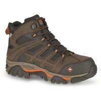 Merrell Men's J17731 Moab 2 Peak Mid Composite Toe Waterproof Safety Work Boots