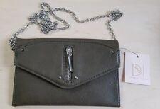 Danielle Nicole Bennett Mini Chain Crossbody Bag, Olive Green, BNWT