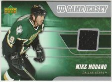 2006-07 Upper Deck Mike Modano #J-MM Hockey Card UD Game Jersey