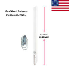 HYS Dual Band Amateur Ham Radio Base Antenna + Mounting Bracket shipping from US