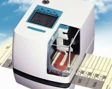 Time Stamp TS-500 Time and Date Side Printing Machine Paper Document Stamper NEW