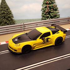 Scalextric 1:32 Digital Car - 2013 Yellow Corvette C6R *LIGHTS*
