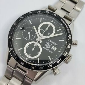 TAG Heuer Carrera CV2010-0 Automatic Calibre 16 Stainless Steel Watch