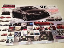 HOLDEN V8 COMMODORE RACING CAR  POSTER-BIG 600MM ATTRACTIVE  SUPERCARS