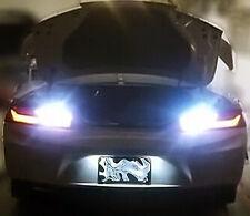 White LED License Plate + Reverse Lights w/ Resistors Kit For 2016 Chevy Camaro