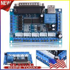 Mach3 Cnc Stepping Motor Driver Interface Adapter Breakout Board Usb Cable