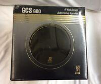 BRAND NEW ACOUSTIC RESEARCH GCS 600 FULL-RANGE 4'' Automotive Loudspeaker Pair