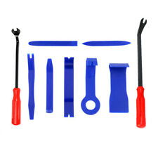 9 Car Trim Removal Tool Set Audio Dash Door Panel Molding Fastener Remover Tool