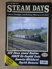 Steam Days Magazine   December  2008