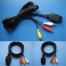 `1.8m 6FT AV TV RCA Video Cord Cable For Game cube/SNES GameCube/Nintendo N64