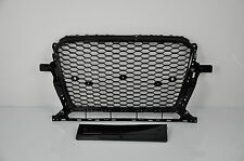 Wabengrill Q5 RSQ5 BLACK für AUDI 8R 2012-16 Grille Stoßstange grill felgen =19