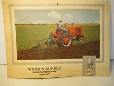 Case Tractor Vintage Calendar Brochure Equipment McGrath Mn Free USA Shipping