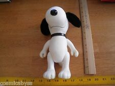 """Snoopy 8.5"""" Vinyl figure fuzzy ears & Tail Another Determined Production"""