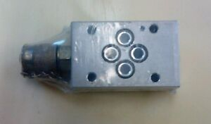 REXROTH HYDRAULIC FLUID TAPPING PLATE  TP6AB-7/A-12