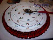 Villeroy & Boch Petite Fleur Servizio Piatti 18 Pz ( 6 x Piani+Fondi+Dessert)