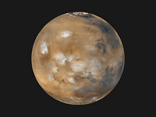 PLANET MARS OUTER SPACE 8X10 GLOSSY PHOTO PICTURE