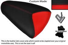 RED & BLACK CUSTOM FITS APRILIA RSV MILLE 98-00 REAR PILLION SEAT COVER