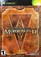 Elder Scrolls III: Morrowind (Microsoft Xbox, 2002) - European Version