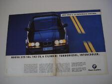 advertising Pubblicità 1992 BMW 525 TDS