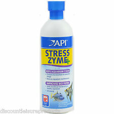 API Stress Zyme Filter Booster Water Treatment Aquarium 473ml
