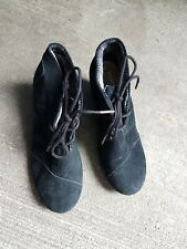 Authentic Toms Boots Black Women's Size 6 Free Shipping